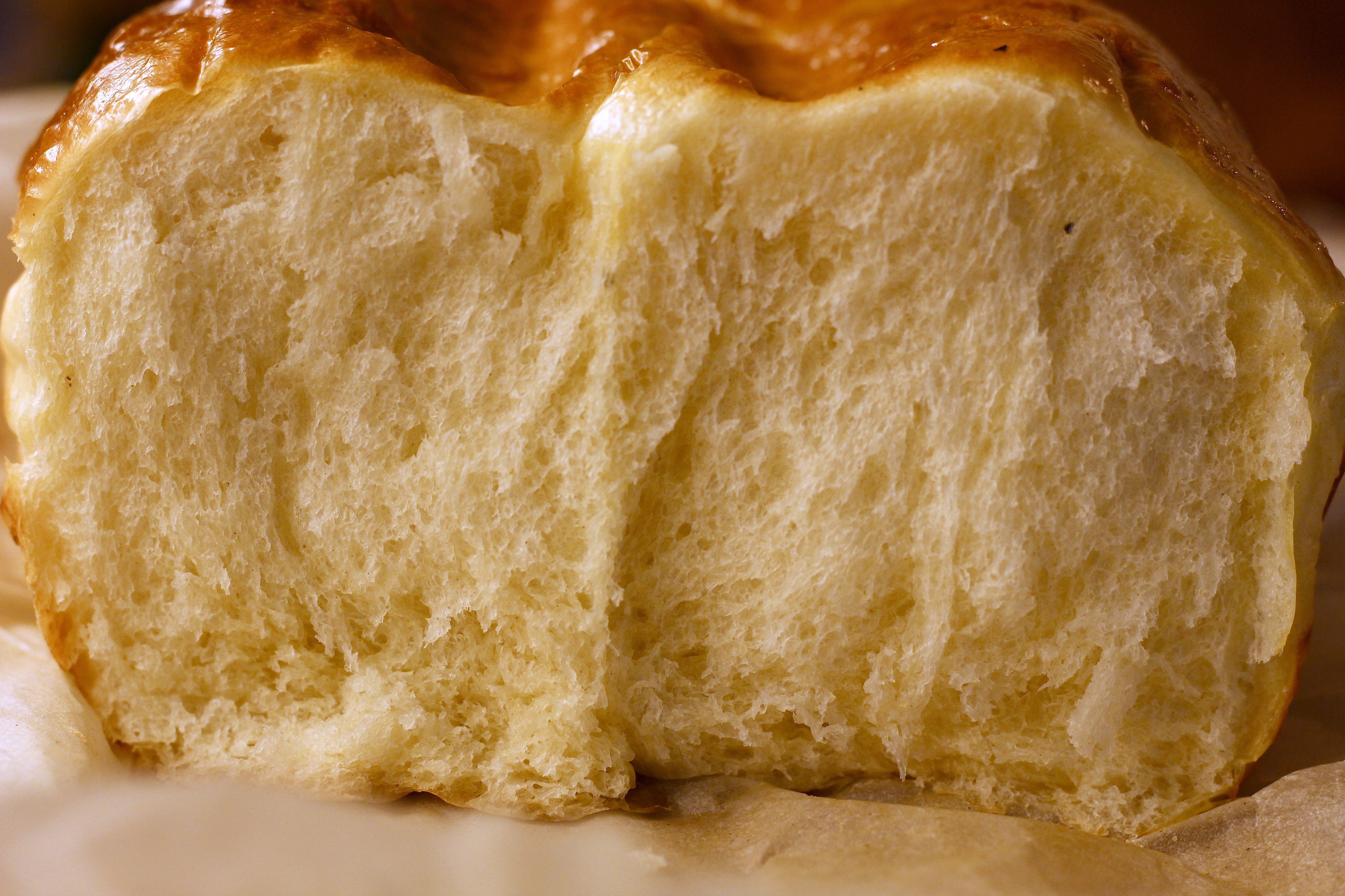 Squishy White Bread Recipe : The clay pot bread crumb Simply a Blog