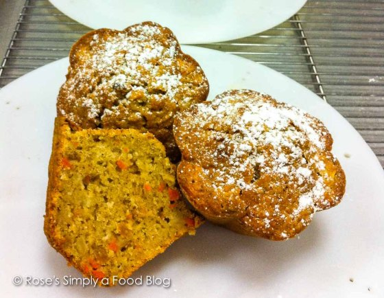 Carrot and Apple Muffin