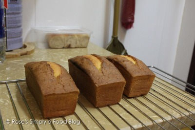 Two-stage freshly baked