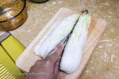 Make Kimchi quarters