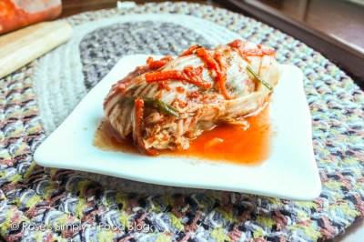 A full kimchi boule