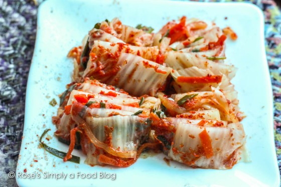 Low-carb kimchi